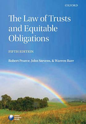 The Law of Trusts and Equitable Obligations