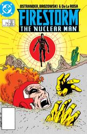 Firestorm: The Nuclear Man (1987-) #74