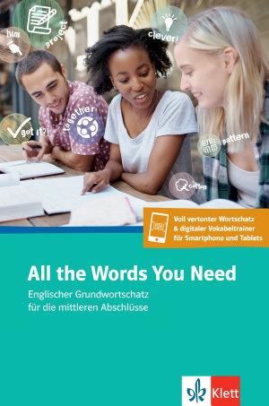 All the Words You Need  Englischer Grundwortschatz  Buch   App