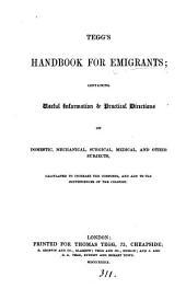 Tegg's handbook for emigrants