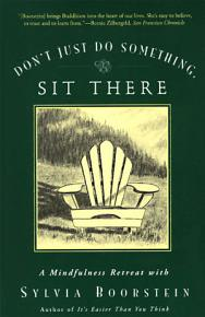 Don t Just Do Something  Sit There PDF