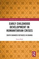 Early Childhood Development in Humanitarian Crises PDF