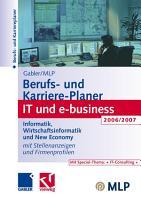 Gabler   MLP Berufs  und Karriere Planer IT und e business 2006 2007 PDF