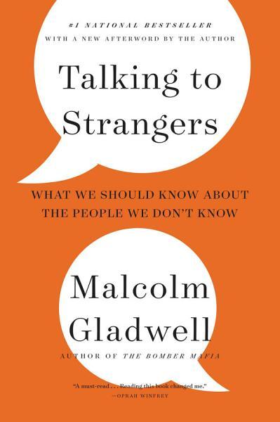 Talking to Strangers Pdf Book