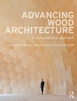 Advancing Wood Architecture PDF