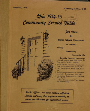 Ohio     Community Service Guide