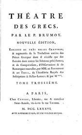 Le théâtre des Grecs, par le r.p. Brumoy