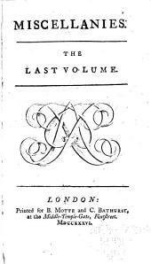 Miscellanies: Volume 4