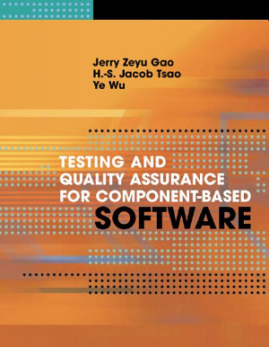 Testing and Quality Assurance for Component based Software PDF