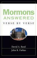 Mormons Answered Verse by Verse PDF