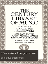 The Century Library of Music: Volume 14