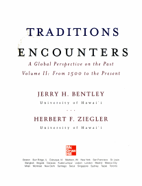Traditions   Encounters