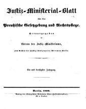 Deutsche justiz: rechtspflege und rechtspolitik ... Amtliches blatt der deutschen rechtspflege, Band 31