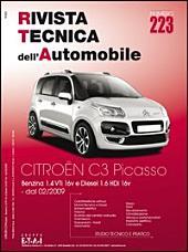 Manuale di riparazione Citroen C3: Picasso 1.4 VTi e 1.6 HDi - RTA223