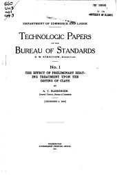 Technologic Papers of the Bureau of Standards: Volumes 1-10