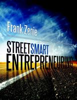 Streetsmart Entrepreneuring PDF