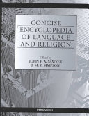 Concise Encyclopedia of Language and Religion PDF