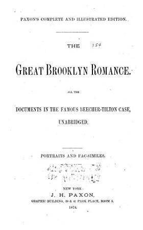 The Great Brooklyn Romance PDF