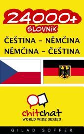 24000+ Čeština - Němčina Němčina - Čeština Slovník