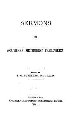 Sermons by Southern Methodist Preachers PDF
