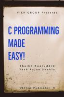 C Programming made easy  PDF