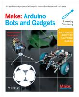 Make  Arduino Bots and Gadgets PDF