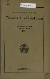 Annual Report of the Treasurer of the United States