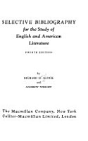 Selective Bibliography for the Study of English and American Literature PDF