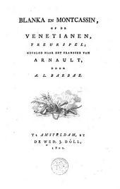 Blanka en Montcassin, of De Venetianen: treurspel