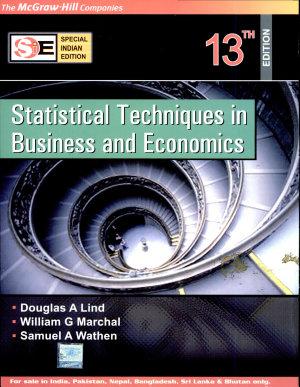 Statistical Techniquesw Cd 13E