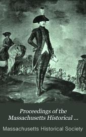 Proceedings of the Massachusetts Historical Society: Volume 20