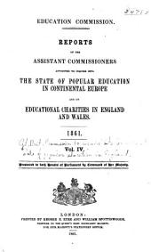 Reports ...: Presented to both house of Parliament by command of her Majesty, Volume 4