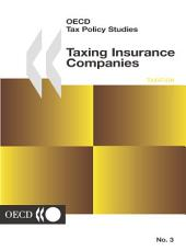 OECD Tax Policy Studies Taxing Insurance Companies