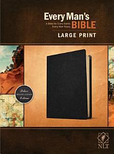 Every Man s Bible Nlt  Large Print  Genuine Leather  Black  PDF