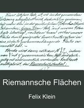 Riemannsche Flächen: Band 2