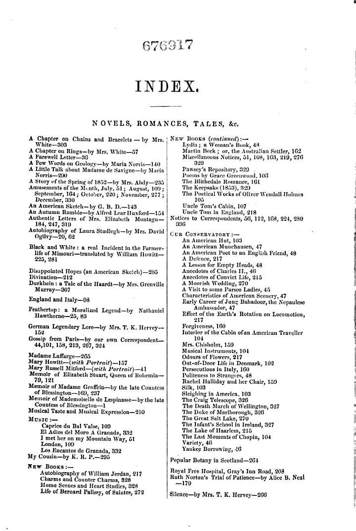 The Ladies' Companion, and Monthly Magazine