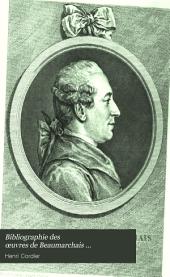 Bibliographie des œuvres de Beaumarchais ...