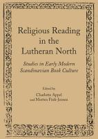 Religious Reading in the Lutheran North PDF