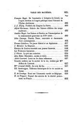 Bibliothèque universelle et revue suisse: Volume18