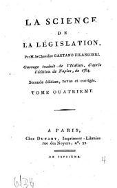 La Science De La Législation: Volume4