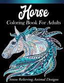 Horse Coloring Book For Adults