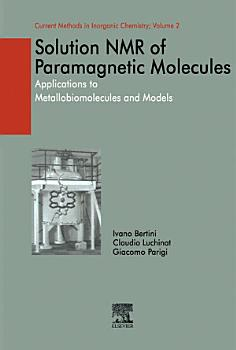 Solution NMR of Paramagnetic Molecules PDF