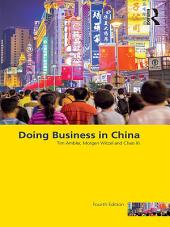 Doing Business in China: Edition 4