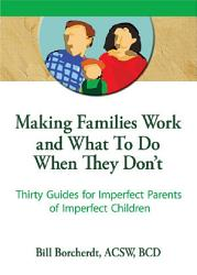 Making Families Work And What To Do When They Don T Book PDF