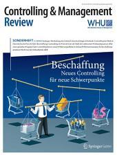 Controlling & Management Review Sonderheft 2-2016: Beschaffung - Neues Controlling für neue Schwerpunkte