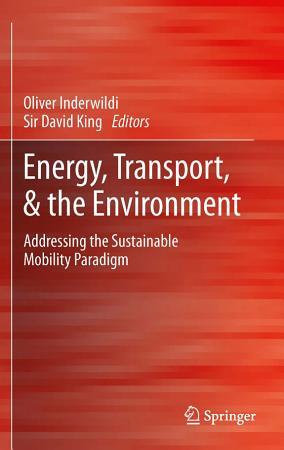 Energy  Transport    the Environment PDF