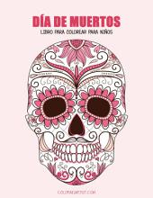 Día de Muertos libro para colorear para niños 1