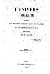 L'Univers israelité: Volume31