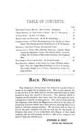 The American Antiquarian and Oriental Journal: Volume 13