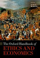 The Oxford Handbook of Ethics and Economics PDF